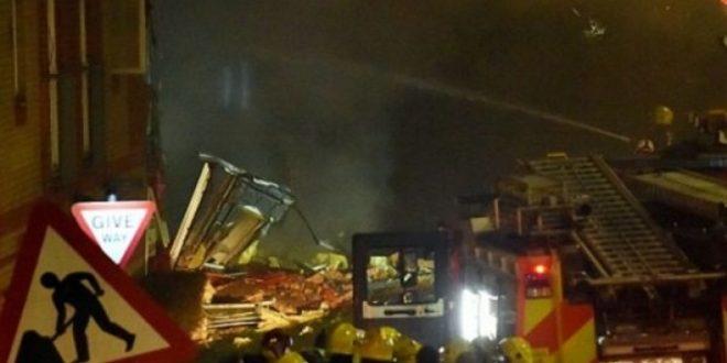 (ВИДЕО+ФОТО) Пеколна експлозија го потресе Лондон вечерва, има повредени!