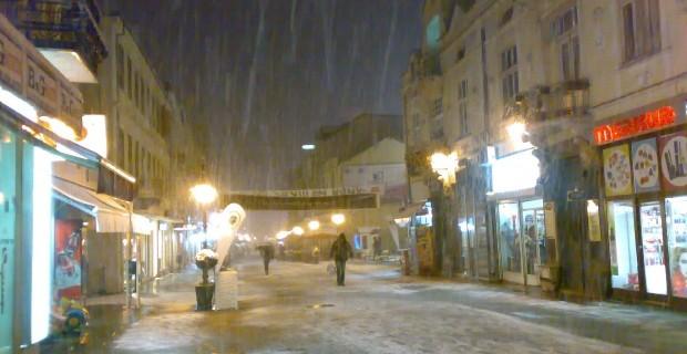 Во Битола најстудено  во Маврово најмногу снег