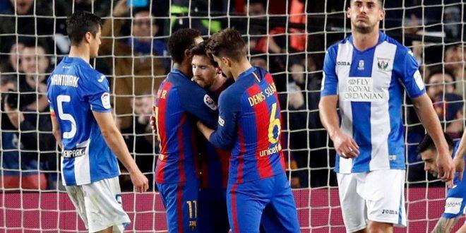 Барселона се измачи против Леганес на Ноу Камп
