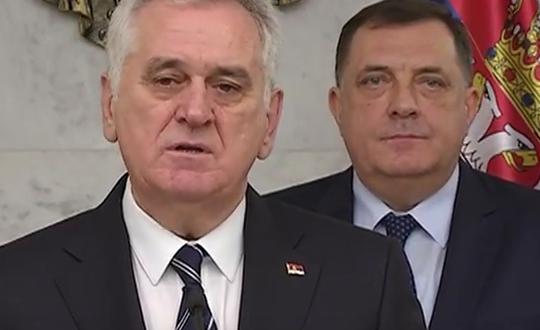 Врвот на Србија и Република Српска сложно против Изетбеговиќ