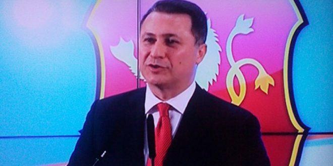 Груевски  СДСМ сака да ја редефинира Македонија  ние остануваме на браникот на државата