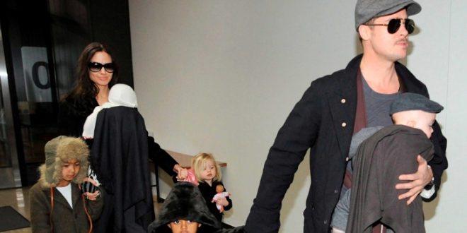 Анџелина Џоли го посвоила првиот син со лажни документи