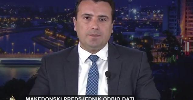 Заев  Не е прифатлива широка коалиција со Груевски  тој треба да се подготви за опозиција