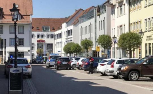 Заложничка драма во банка во Германија
