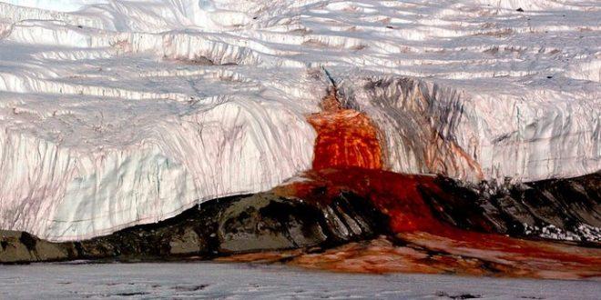Решена мистеријата за крвавите водопади на Антарктикот