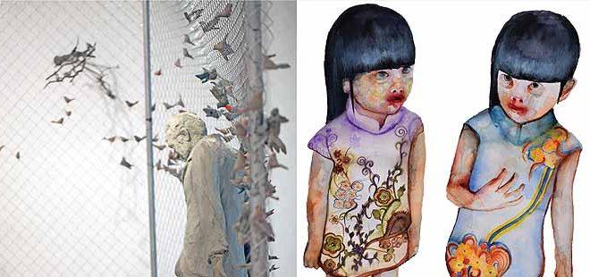 Дела на уметници од Грција во Остен