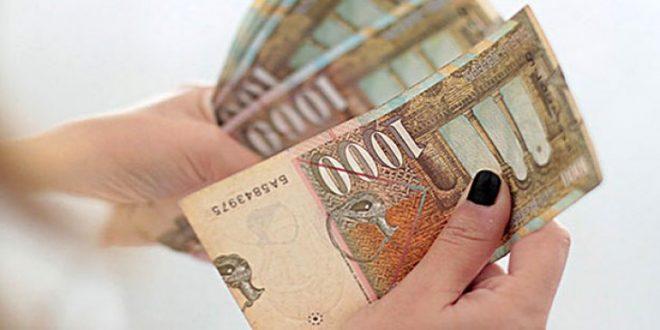 Просечната плата во февруари 22 347 денари