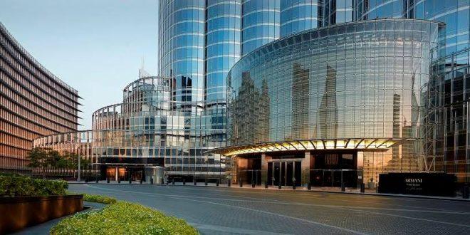 Армани прогласен за  Глобален Хотел на годината