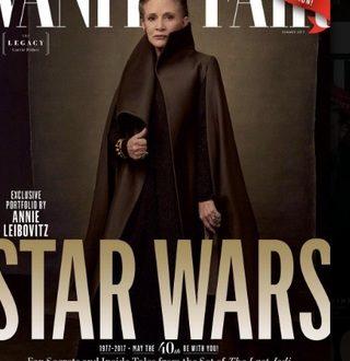 (ФОТО) Кери Фишер на насловна на Vanity Fair
