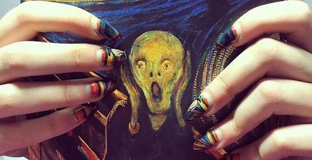 (ГАЛЕРИЈА) Ноктите како платна за најпознатите уметнички дела
