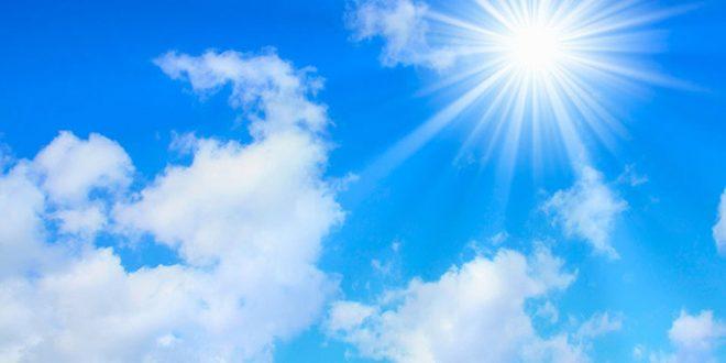 Времето ќе биде сончево и потопло со мала до умерена облачност