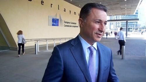 Видео: Груевски се сретна со Борисов, но не дознал што договорил Заев во Софија