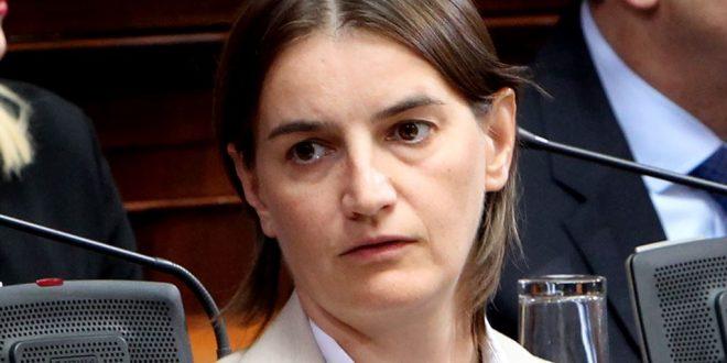 Брнабиќ за српската амбасада во Македонија: Не станува збор за мала работа