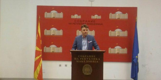 Шилегов обвинува : ВМРО-ДПМНЕ го блокира Собранието