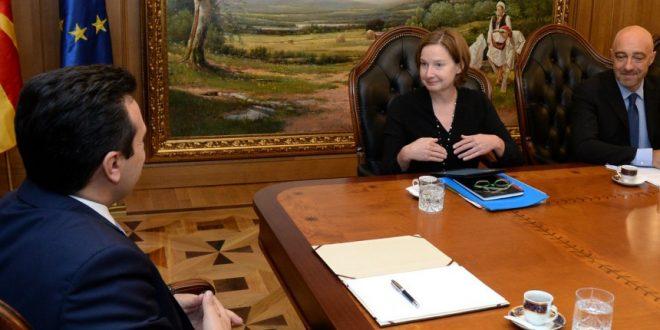 Заев се сретна со претставници на Светска банка, најавена поддршка за напредок