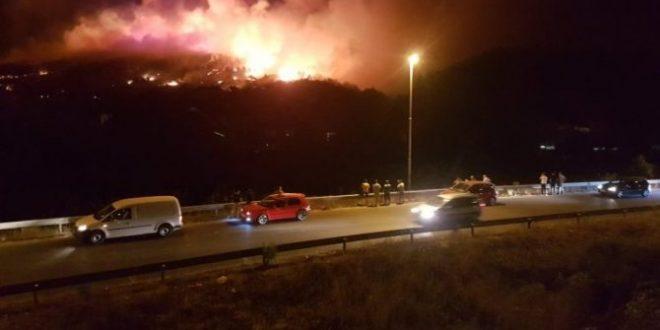 Пожарот во Кондово ставен под контрола