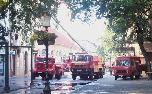 Пожар во хотел во Суботица