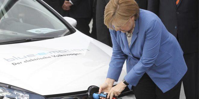 Меркел ја отфрли идејата за квоти за електрични автомобили