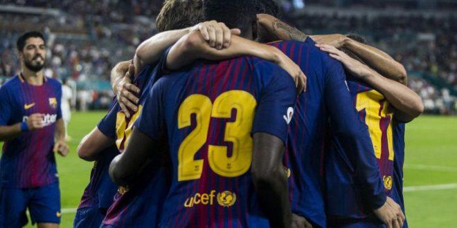 Барселона ќе носи посебен дрес на отворањето на новата сезоната