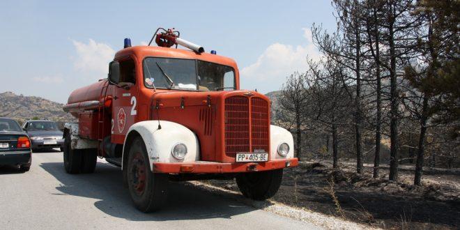Се бараат доброволци за гаснење на пожарот кај Трескавец