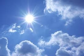 Ќе биде претежно сончево со слаб до умерен јужен ветер