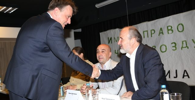 Кандидатите за градоначалник на Скопје се обврзаа дека ќе се грижат за чиста средина