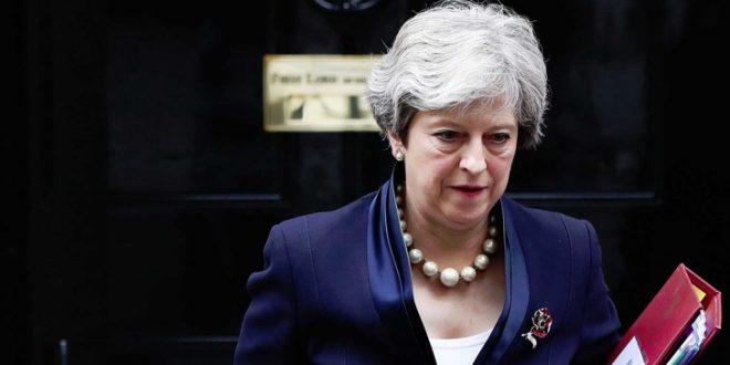 Меј ја обвини Москва за мешање во британските избори