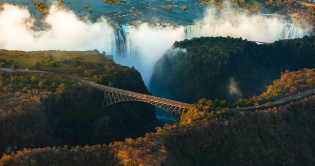 Пресушија Викториините водопади