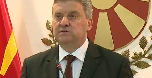 Иванов го доби указот за Законот за јазици  не одлучил дали ќе го потпише