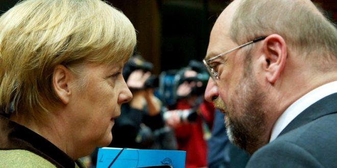 Меркел и Шулц начелно се договорија за нова влада