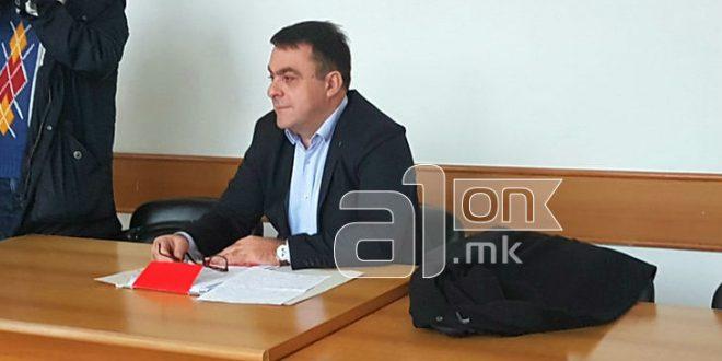 Сашо Василевски не дојде на седницата за притворот