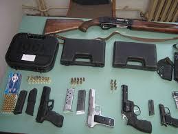 Прилепчани фатени со оружје и муниција во автомобил кај Скопје сити мол