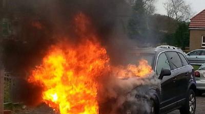 Претепан прилепчанец  насилниците му го запалиле возилото