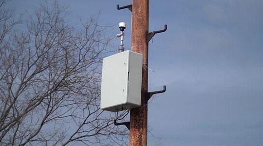 Мерна станица за квалитет на воздух во општина Бутел