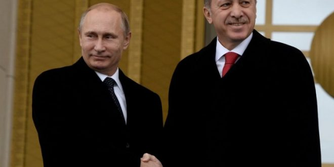 Телефонски разговор на Путин и Ердоган за билатералните односи и Сирија