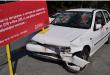 Со поставување на возилото во кое загинаа две лица ќе се подигнува свеста за одговорно учество во сообраќајот