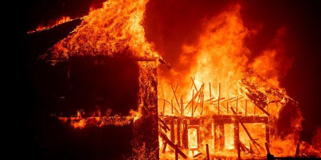 Пожар во куќата на 52-годишен жител од селото Тработивиште