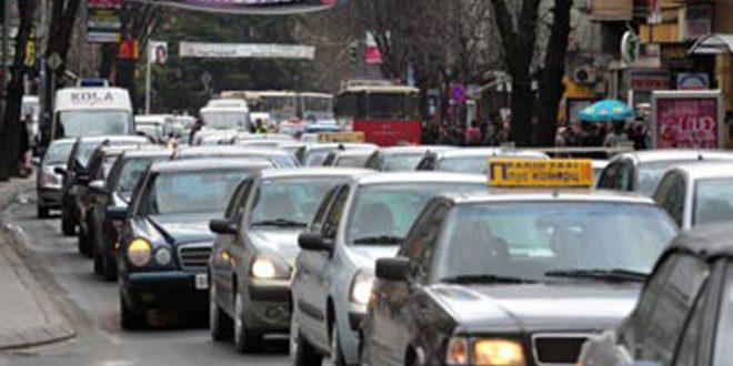 АМСМ: Попладнево зголемен интензитетот на сообраќај на патиштата