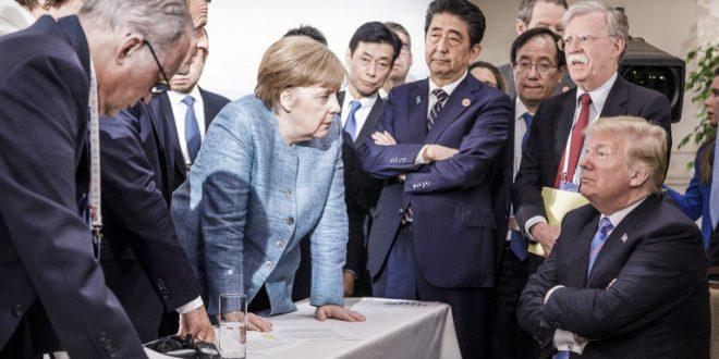 Внуката на Трамп открива што има претседателот на САД против Ангела Меркел