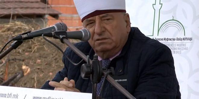 Реисот се закани: Ако Владата не ни даде помош, ќе ги повлечам сите забрани за посета на џамиите