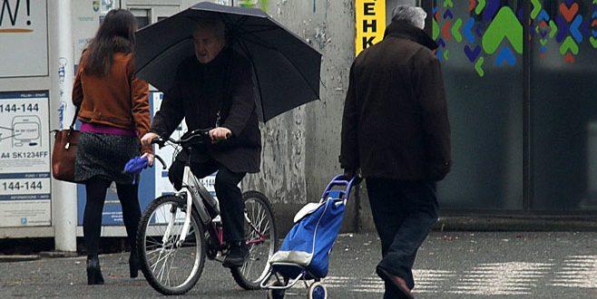 Нестабилно време во цела држава, најмногу дожд е наврнат во Струмица 40 л/м2
