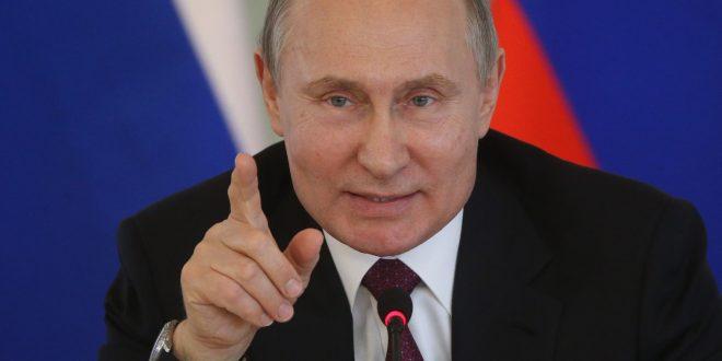 Путин: Земјата мора да настапува под националното знаме, не е прифатлива колективна казна