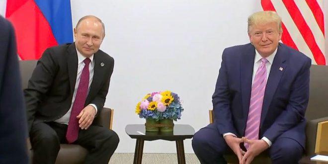 Телефонски разговор Трамп-Путин: Двајцата лидери зборувале за начинот за справување со пандемијата