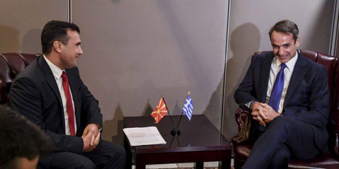 Заев во Солун на средби со Мицотакис и со грчки бизнисмени