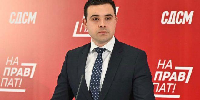 Костадинов: ВМРО-ДПМНЕ продолжува со деструктивното работење и однесување во Собранието