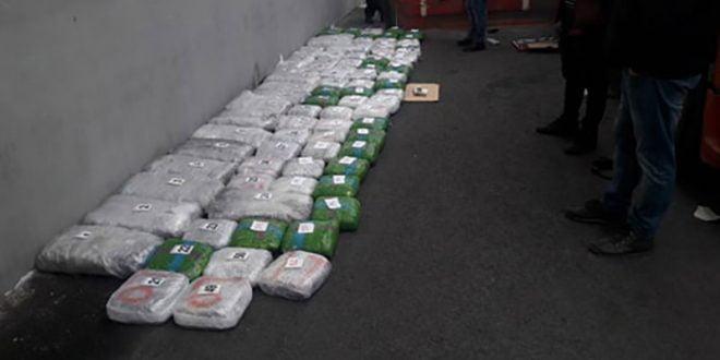 Во камион пронајдени над 100 килограми марихуана, приведен маж од валандовско