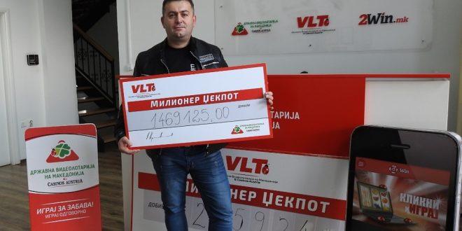 Ристо Костадинов освои рекорден Милионер џек пот вреден 1,7 милиони денари