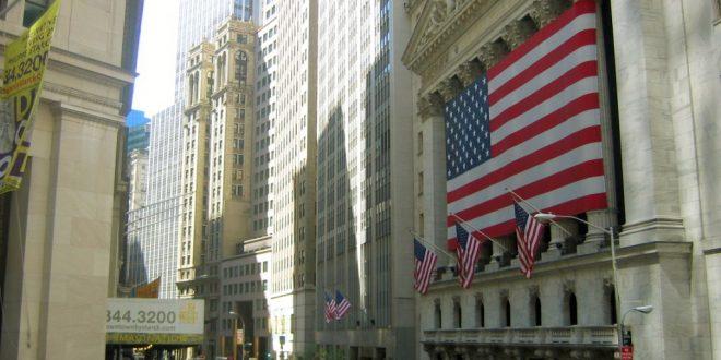 Пад на акциите на Вол Стрит