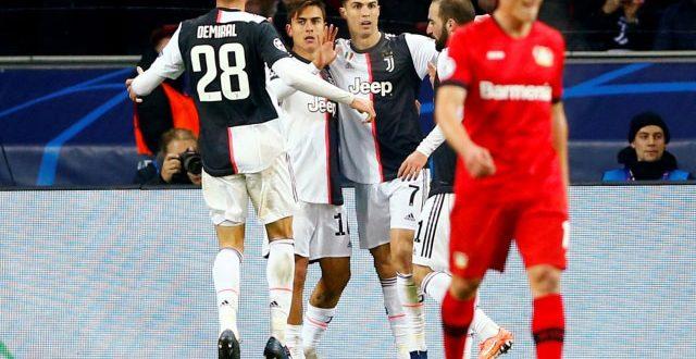 Роналдо и Игуаин му донесоа успех на Јуве во Германија