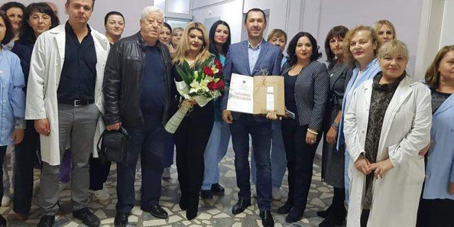 Семејството Ковачевски со голема донација во ЈЗУ Клиничка Болница Битола (ФОТО)